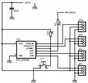 Servo decoder diagram