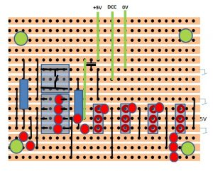 Servo decoder layout